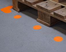 Forme pentru marcarea podelei