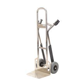 Cărucior manual de aluminiu Matador NST300CT cu roți pentru scări; capacitate de încărcare 350 kg