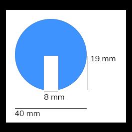 Bară de protecție, model 2 – 1 metru