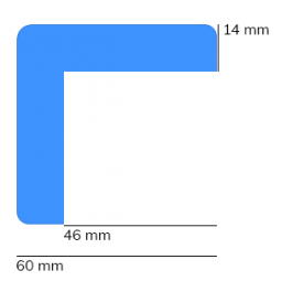 Bară de protecție, model 8 – 1 metru