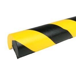 Bară de protecție PRS pentru colțuri, model 4 – galben/negru – 1 metru