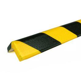 Bară de protecție PRS pentru colțuri, model 7 – galben/negru – 1 metru