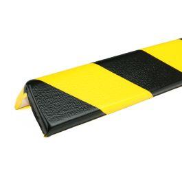 Bară de protecție PRS pentru colțuri, model 8 – galben/negru – 1 metru