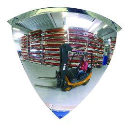 Oglindă convexă – Oglindă sfert de cupolă - 90°