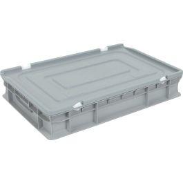 Capac pentru container de tip euro-cutie cu pereți drepți 400x600 mm