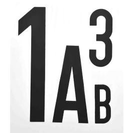 Litere și cifre magnetice (per bucată)