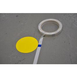 Bandă de măsurare pentru aplicarea marcajului de podea