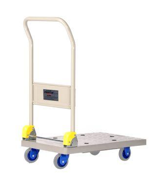 Cărucior tip platformă Prestar, pliabil, din plastic, capacitate de încărcare 150 kg