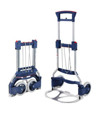 Cărucior manual pliabil de transport RuXXac Business, capacitate de încărcare 125 kg