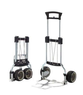 Cărucior manual pliabil de transport RuXXac Cross, capacitate de încărcare 100 kg