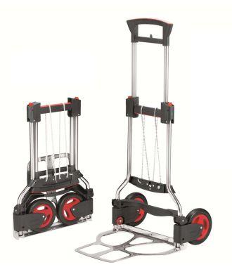 Cărucior manual pliabil de transport RuXXac Exclusive, capacitate de încărcare 125 kg