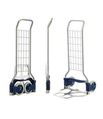 Cărucior manual pliabil de transport RuXXac Parcel, capacitate de încărcare 125 kg