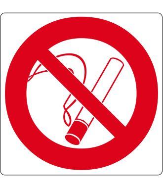 """Pictogramă de podea pentru """"Fumatul interzis"""""""