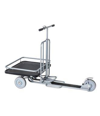 Scooter industrial Kongamek cu platformă de încărcare