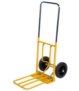 Cărucior manual Kongamek cu platformă de încărcare pliabilă, capacitate de 150 de kg