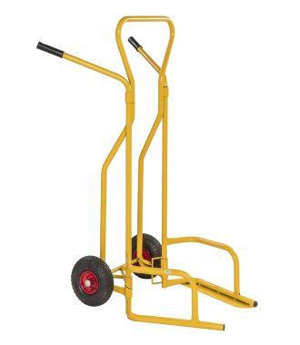 Cărucior manual pentru transportare anvelope Kongamek