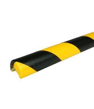 Bară de protecție PRS pentru colțuri, model 1 – galben/negru – 1 metru