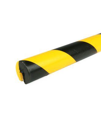 Bară de protecție PRS pentru margini, model 2 – galben/negru – 1 metru