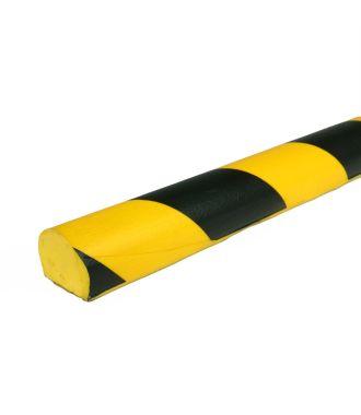 Bară de protecție PRS pentru suprafețe plane, model 3 – galben/negru – 1 metru