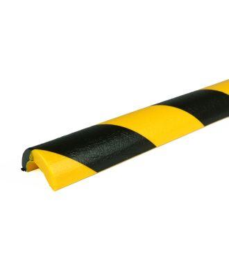 Bară de protecție PRS pentru țevi, model 5 – galben/negru – 1 metru