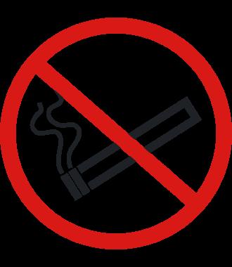 """Pictogramă de podea antiderapantă: """"Fumatul interzis"""""""