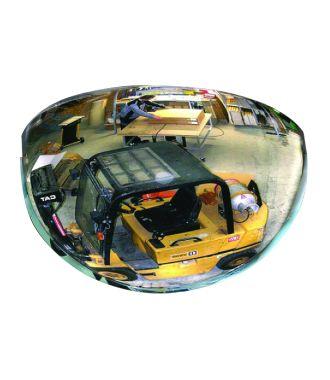 Oglindă convexă – Oglindă jumătate de cupolă - 180°