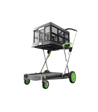 Clax trolley + 1 folding crate
