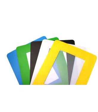 Folie autocolantă transparentă ColorCover de documente pentru podea (pachet de 10)