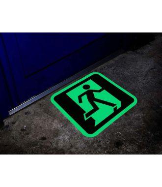Indicator pentru ieșiri de urgență fotoluminescent