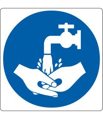 """Pictogramă de podea pentru """"Spălarea mâinilor"""""""