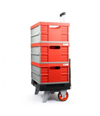 RollOne + 3 collapsible crates