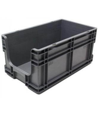 Container cu pereți drepți 295x505x235 mm, deschis în față
