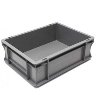 Container de tip euro-cutie cu pereți drepți 300x400x120 mm