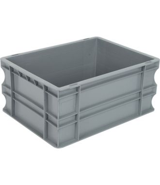 Container de tip euro-cutie cu pereți drepți 300x400x180 mm