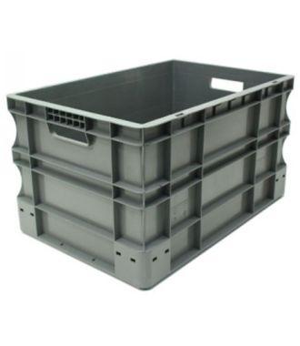 Container de tip euro-cutie cu pereții drepți 400x600x330 mm
