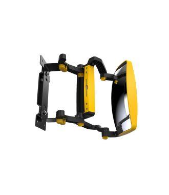 Oglindă pentru vizibilitate frontală GenieGrips® pentru motostivuitoare