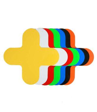 Marcaje de podea în formă de cruce (piesă în X)