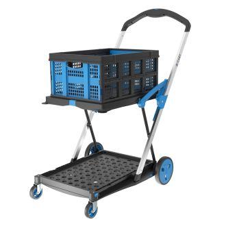 Cărucior pliabil pentru transportarea lăzilor X-Cart + 1 ladă pliabilă