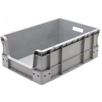 Container de tip euro-cutie cu pereți drepți 400x600x230 mm, deschis în față